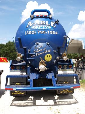A-Able Septic Truck 1