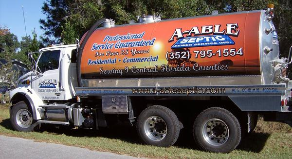 A-Able Septic Residential Services